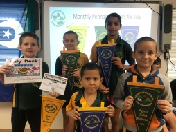 Attendance & Pennants Week 3, Term 3