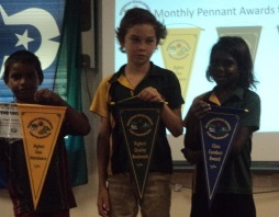 Monthly Pennants Awarded
