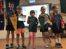 Monthly Pennants Awarded Week 6