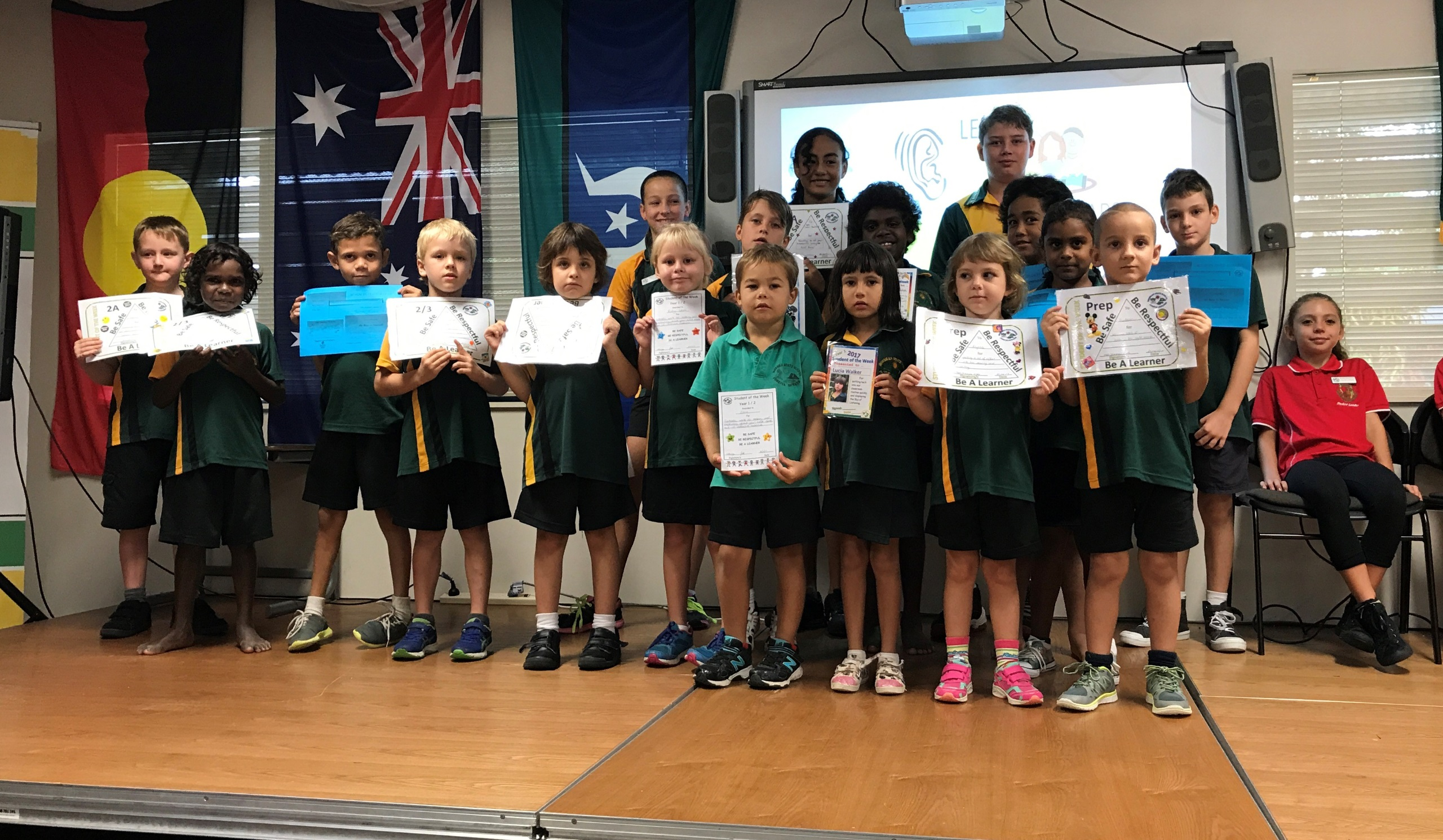 Students of the Week 1, Term 2